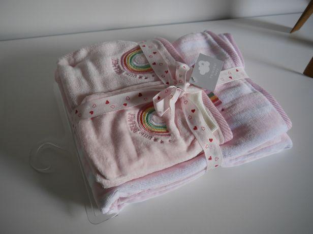 Primark Set ręczniki NOWY ręcznik kąpielowy użytkowy rękawica