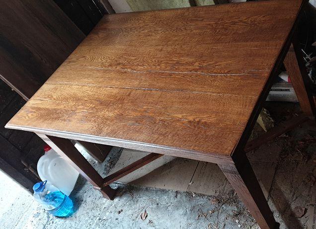 Stół lite drwno - antyk w cenie 800 zł