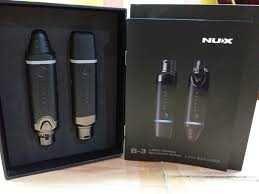 NOVO NUX B3- Wireless XLR sem fios recarregável para microfone/colunas