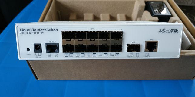 Продам новый Mikrotik CRS212-1G-10S-1S+IN