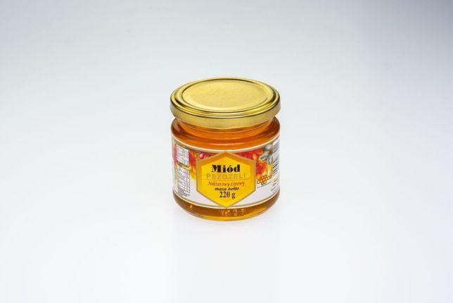 Miód naturalny lipowy 220g