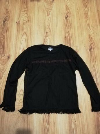 Czarna bluza z siateczka