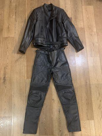 Odzież motocyklowa skórzana