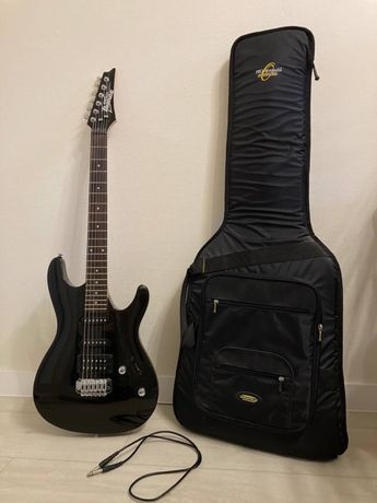 Новая гитара IBANEZ GSA-60 BS (+ водостойкий чехол, + шнур к комбику)