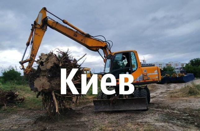 ДЕМОНТАЖНЫЕ РАБОТЫ Земляные работы УБОРКА Территорий СПИЛ Деревьев
