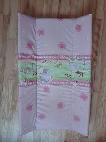 Przewijak 80cm x 50cm różowy