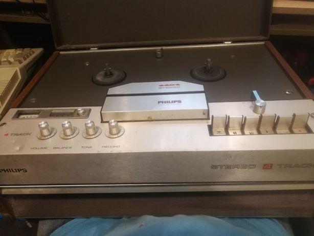 Magnetofon szpulowy Philips 4404 Stereo 4 ścieżkowy