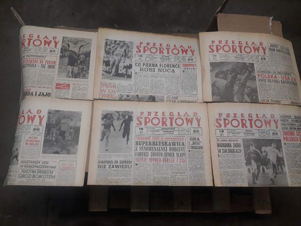 Stare gazety Przegląd Sportowy, Ekran, Film, Razem, Stolica,