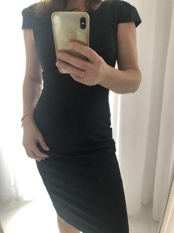 Платье новое строгий стиль,миди из шерсти Austin Reed