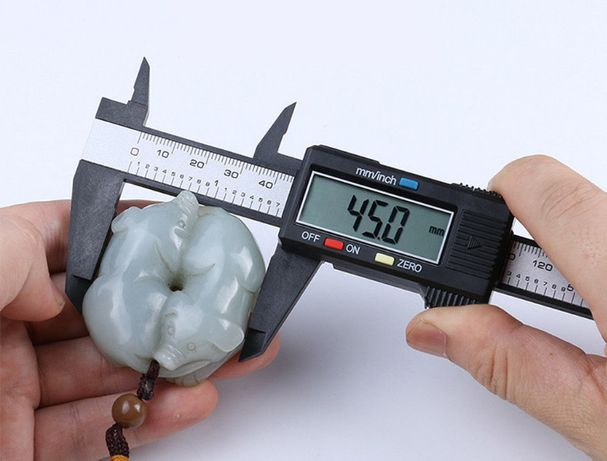 Электронный цифровой штангенциркуль 150мм +LCD дисплей микрометр