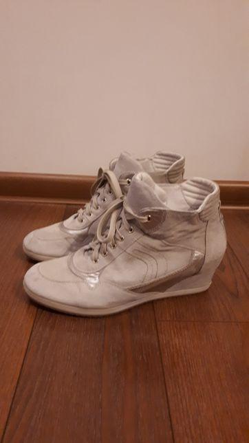 GEOX Skórzane Sneakersy rozm.40