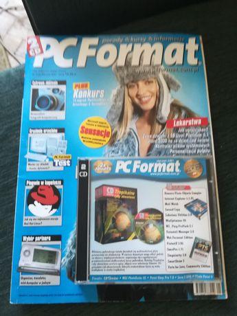 PC format czasopismo z plytami