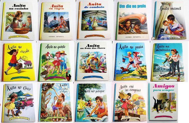 Livros da Anita da Verbo Infantil
