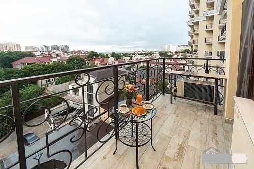 ШИКАРНАЯ Квартира в Аркадии с балконом и видом на море. Паркинг-1