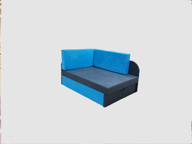 Narożnik Dziecięcy Kubuś Łóżko Jednoosobowe Promocja Fotel Sofa Rabat