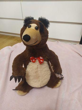 Masza i Niedźwiedź, interaktywne, śpiewa,40 cm, niedźwiedź,pluszak