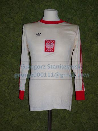 Koszulka meczowa HOLANDIA-POLSKA 1975 - Marian OSTAFIŃSKI
