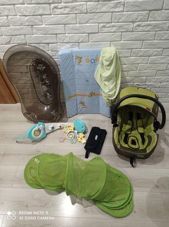 Fotelik+wanienka+karuzela+podgrzewacz i inne rzeczy dla dziecka