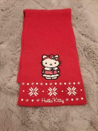 Rozowy szalik Hello Kitty