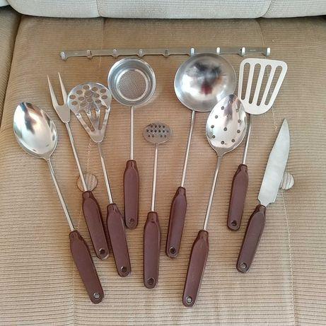 Набор кухонный аксессуары 10 предметов нерж СССР качество супер