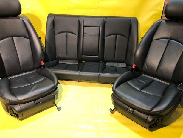Салон Mercedes W211 передние сиденья Рестайл передні сидіння E211 Е211