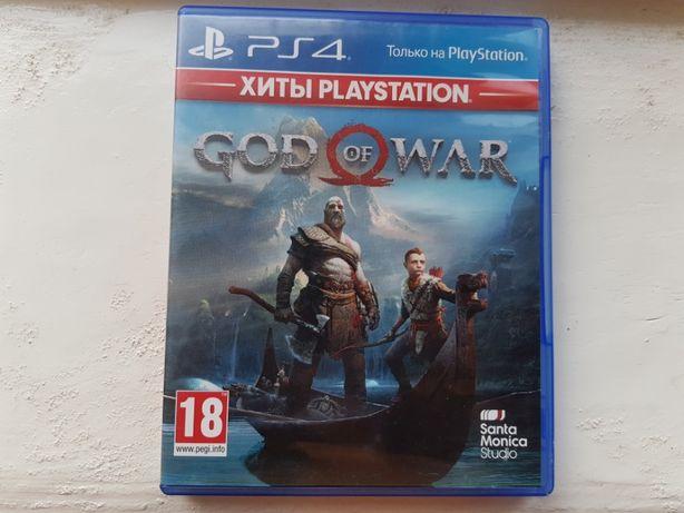 Диск з грою God of War 4 (2018) для Playstation 4 PS4