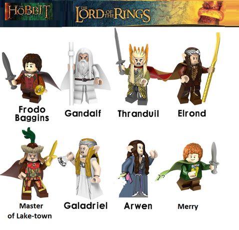 Bonecos minifiguras Hobbit / Senhor dos Anéis nº5(compativel com Lego)