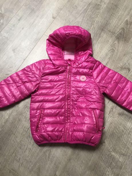 Курточка легкая и теплая демисезонная