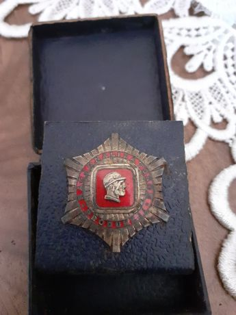 Stara odznaka Racjonalizatorom produkcji