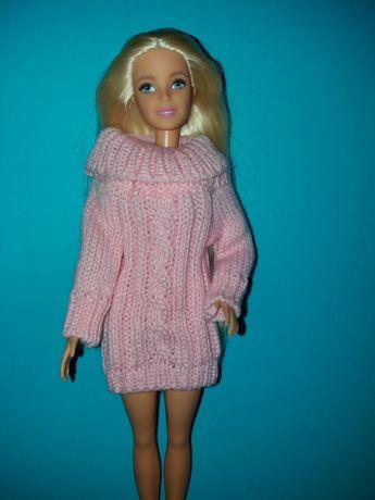 Ubranka dla lalki Barbie swetr
