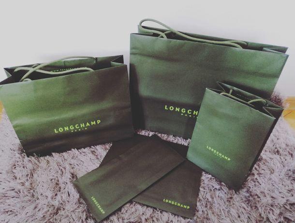 LongChamp torebki papierowe