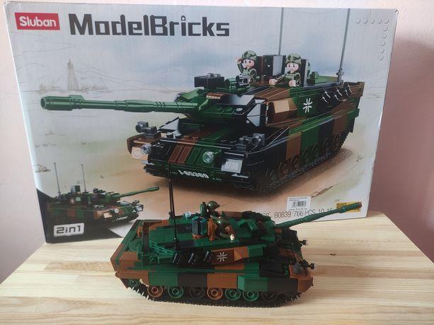 Конструктор SLUBAN MODEL BRICKS M38-B0839 ТАНК Леопард 2А5 (766 дет.)