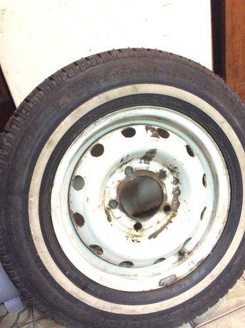 4 колеса на дисках Нива Шевроле зима.
