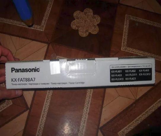 Тонер-катридж Panasonic KX-FAT88A7 (оригинальный в упаковке!)