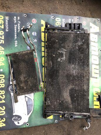 Продам радіатор кондиціонера і радіатор масляний бмв е 39 3.0 дизель