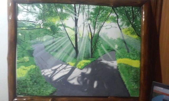 Картина масло, холст 60х80
