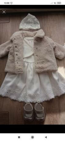 Chrzest sukienka 68/74