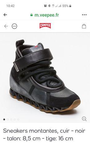 Новые сникерсы- ботинки Camper 37р.