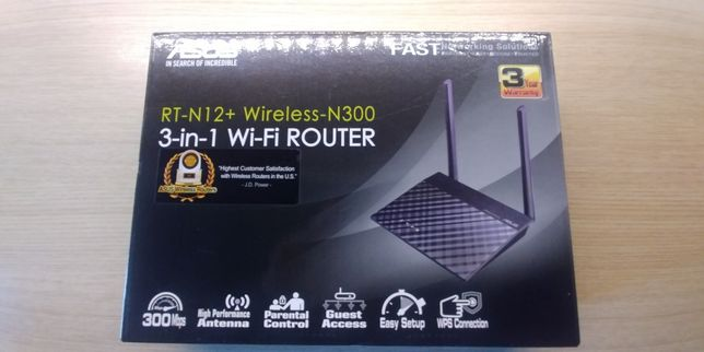 Router Wi-Fi 3-in-1 ASUS
