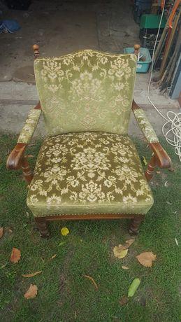 Fotele fotel zabytkowe antyczne antyk Ludwik
