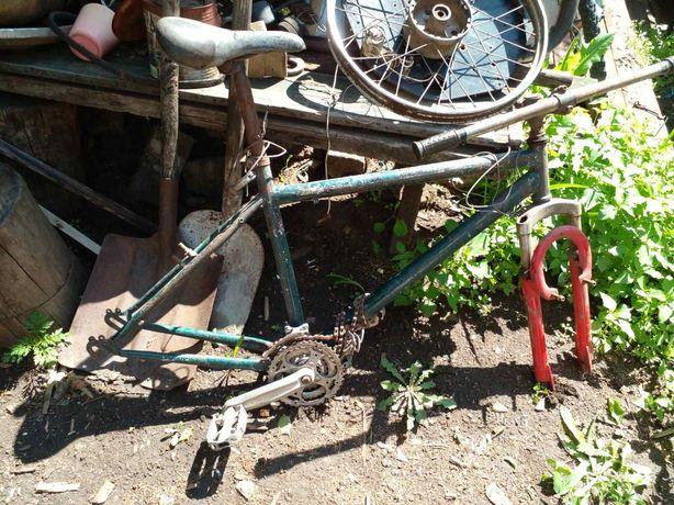 Рама спортивного велосипеда