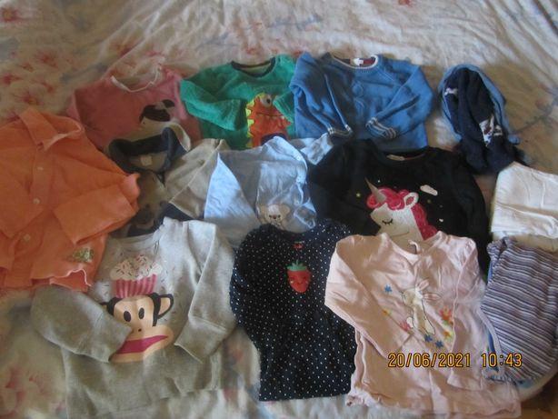 пакет детских вещей на 1-2года