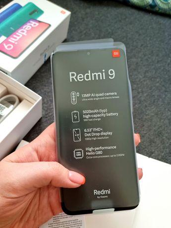 Redmi 9 Wersja limitowana Sunset Purple 2021 4 GB +64 GB 100% nowy