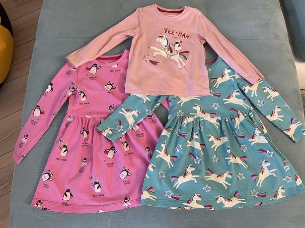 Платье, кофточка, M&S 3-4 yrs