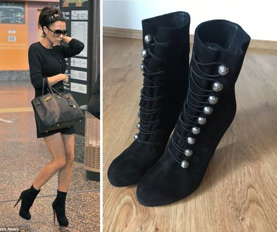 Christian Louboutin Ankle Bootie roz. 39