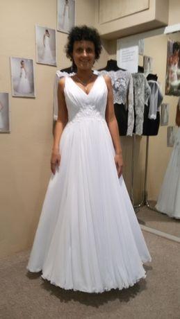 Zjawiskowa suknia ślubna!
