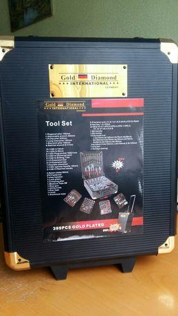 Золотой универсальный набор инструментов из Германии