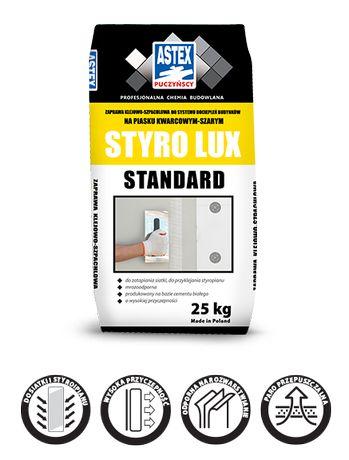 Zaprawa klejowa do zatapiania siatki i przyklejania płyt STYRO LUX B.