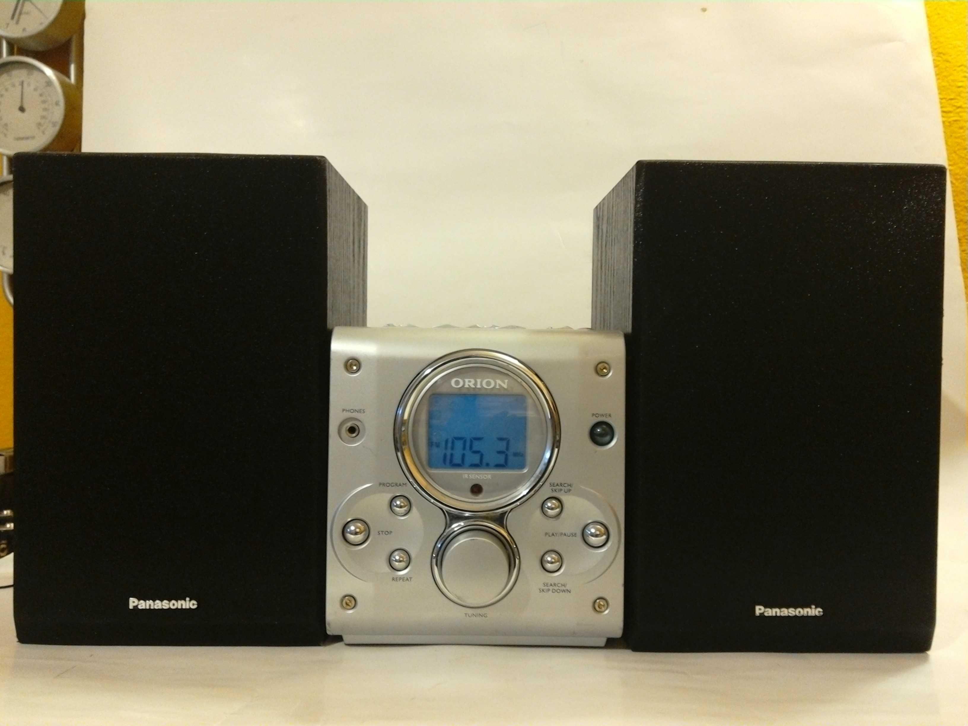 Wieża ORION CD-R/RW radio cyfrowe z FM idealna do garażu. Tanio !