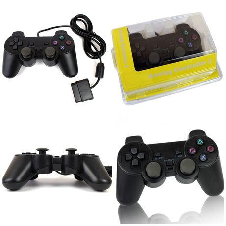 Джойстик игровой для PlayStation 2 PS2 виброотдача и аналоги